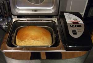 Выпечка белого хлеба