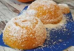 Сладкий десерт из спелой тыквы