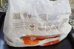 Накрываем тесто пакетом