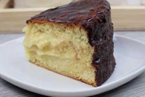 Рецепт заварного торта Чародейка