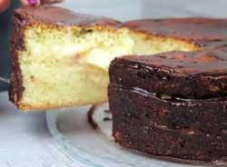 Торт с шоколадной глазурью Чародейка